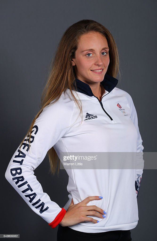 A portrait of Francesca Halsall a member of the Great Britain Olympic team during the Team GB Kitting Out ahead of Rio 2016 Olympic Games on June 29, 2016 in Birmingham, England.