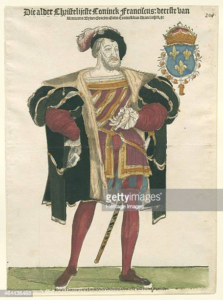 Portrait of Francis I King of France Duke of Brittany Count of Provence c1540 Found in the collection of the Rijksmuseum Amsterdam