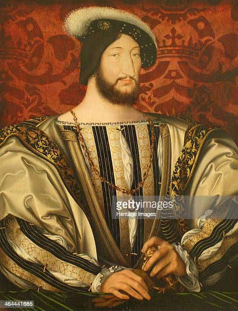 Portrait of Francis I King of France Duke of Brittany Count of Provence ca 1530 Found in the collection of the Louvre Paris
