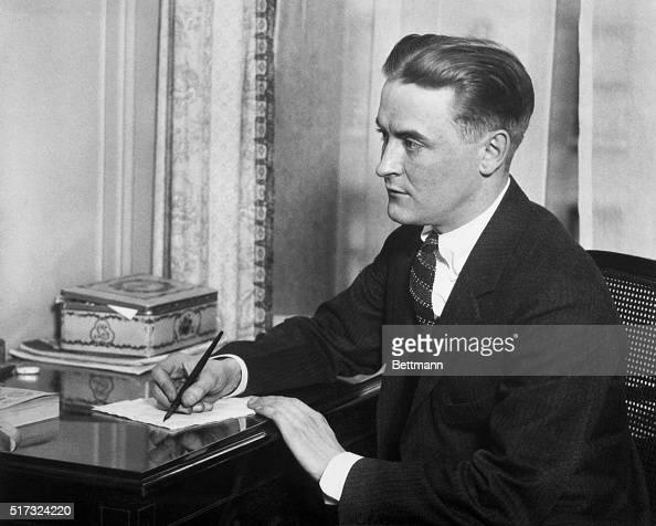 Portrait of Francis Scott Fitzgerald American fiction writer Photo