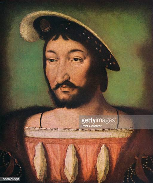 'Portrait of Francois I of France' c16th century Francis I King of France c15201525 Francis ruled France from 1515 He is regarded as France's fist...