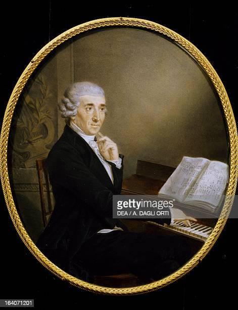 Portrait of Franz Joseph Haydn Austrian composer Vienna HaydnMuseum