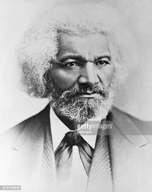 Portrait of Frederick Douglass American abolitionist and writer Undated photograph