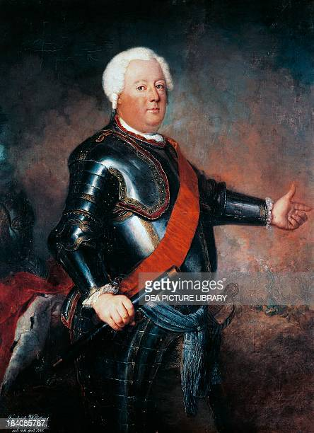 Portrait of Frederick William I of Prussia King of Prussia
