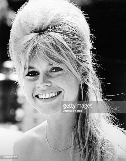 Portrait of French actress Brigitte Bardot circa 1960s
