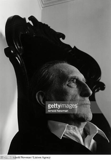 Portrait of French artist and co founder of the Dada group Marcel Duchamp January 28 1966 in New York City
