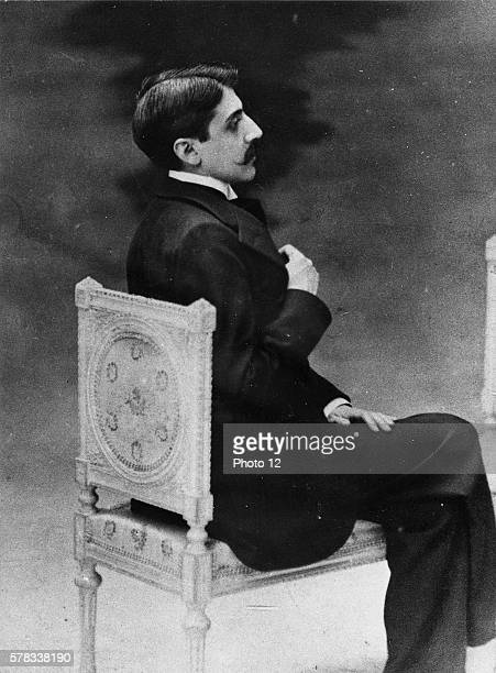 Portrait of French author Marcel Proust Photograph taken at the Hotel Ritz in 1902