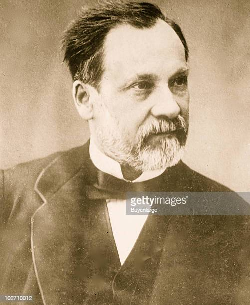 Portrait of French chemist Dr Louis Pasteur France 1912