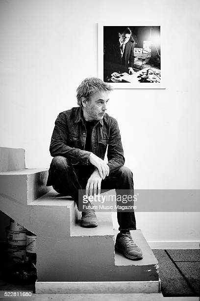 Portrait of French electronica musician Jean Michel Jarre photographed at his studio in Paris on August 20 2015