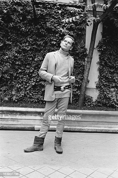 Portrait of French fashion designer Pierre Cardin in London United Kingdom in July 1970