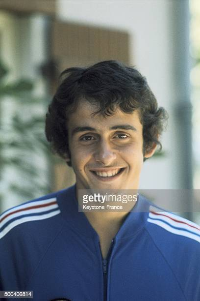 Portrait of French football player Michel Platini circa 1970
