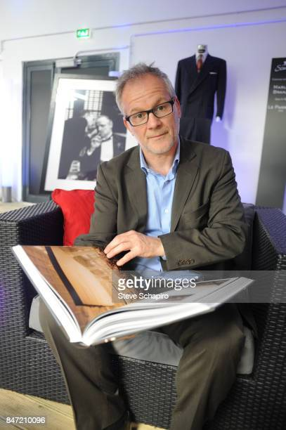 Portrait of French historian and Cannes Film Festival director Thierry Fremaux Cannes France January 28 2010