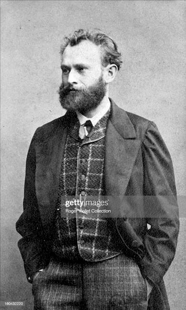 Portrait of French painter <a gi-track='captionPersonalityLinkClicked' href=/galleries/search?phrase=Edouard+Manet&family=editorial&specificpeople=99081 ng-click='$event.stopPropagation()'>Edouard Manet</a> (1832-1883) by Cortat circa 1862.