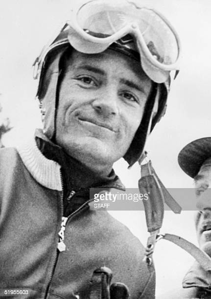 Portrait of French skier JeanClaude Killy taken 03 January 1968 in Val d'Isere JeanClaude Killy won three gold medals in the 1968 Winter Olympics...