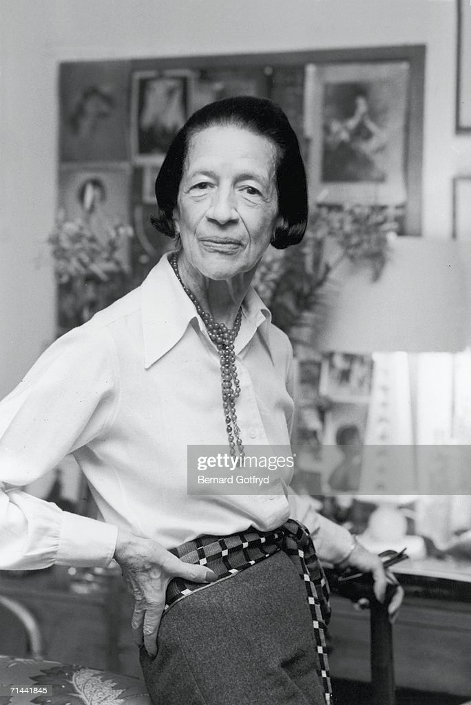 Portrait of French-born American fashion editor <a gi-track='captionPersonalityLinkClicked' href=/galleries/search?phrase=Diana+Vreeland&family=editorial&specificpeople=6486853 ng-click='$event.stopPropagation()'>Diana Vreeland</a> (1906 - 1989), late 1970s or early 1980s.