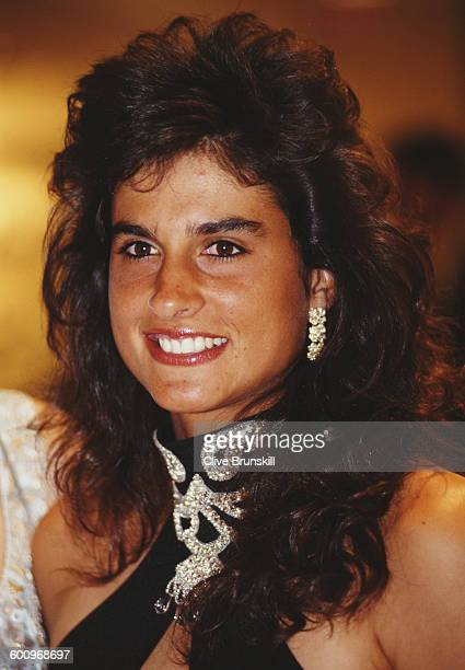 Portrait of Gabriela Sabatini of Argentina attends Women International Tennis Association Awards Dinner on 29 August 1994 at the Parker Meridian...