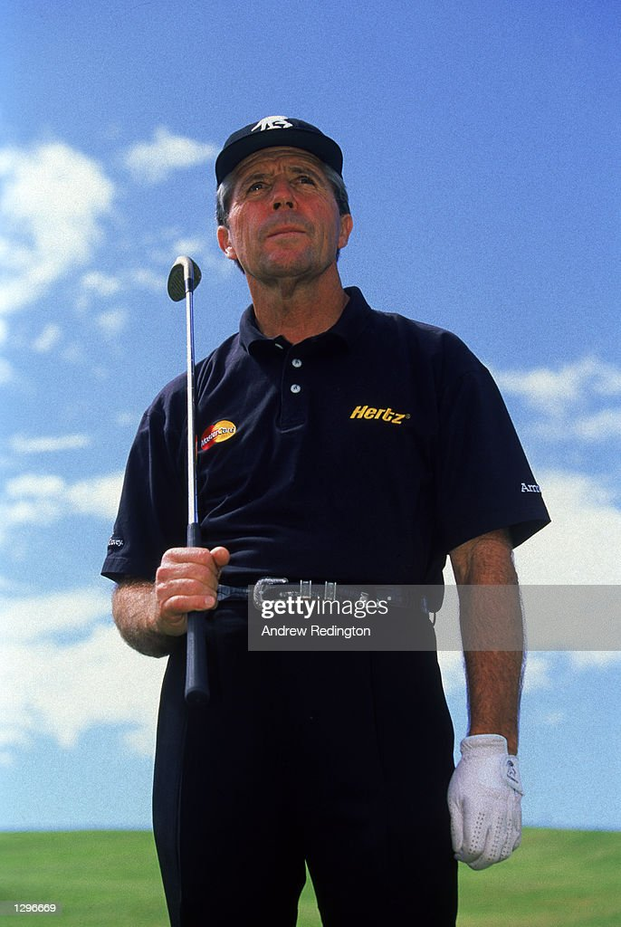 Portrait of Gary Player of South Africa during a feature shoot in Sun City South Africa in December 1998