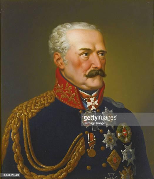 Portrait of Gebhard Leberecht von Blücher Prince of Wahlstatt Private Collection Artist Ströhling Eduard