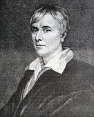 Portrait of George Henry Borrow an English author Dated 19th Century