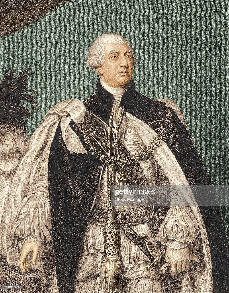 Portrait of George III king of Great Britain and Ireland from 1760 1820 1810s