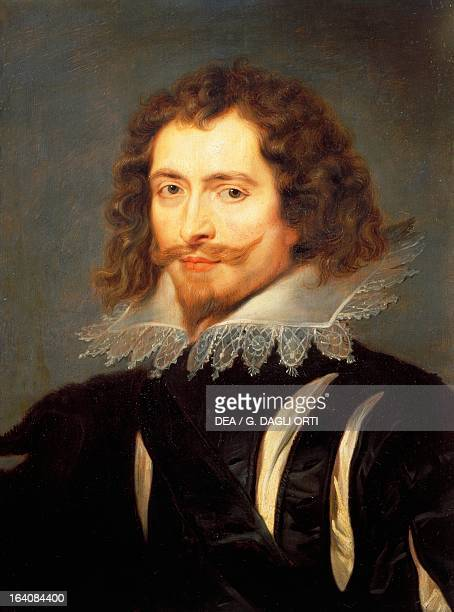 Portrait of George Villiers first Duke of Buckingham Painting by Peter Paul Rubens oil on canvas 63x48 cm Florence Palazzo Pitti Galleria Palatina