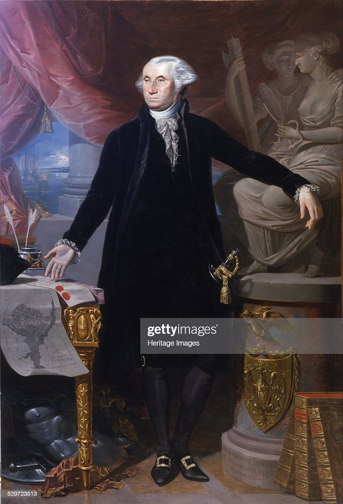 Portrait of George Washington Found in the collection of Real Academia de Bellas Artes de San Fernando Madrid