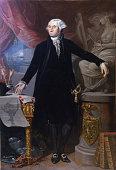 Portrait of George Washington Found in the collection of Real Academia de Bellas Artes de San Fernando Madrid