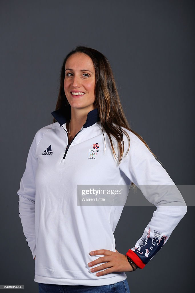 A portrait of Georgie Davies a member of the Great Britain Olympic team during the Team GB Kitting Out ahead of Rio 2016 Olympic Games on June 29, 2016 in Birmingham, England.