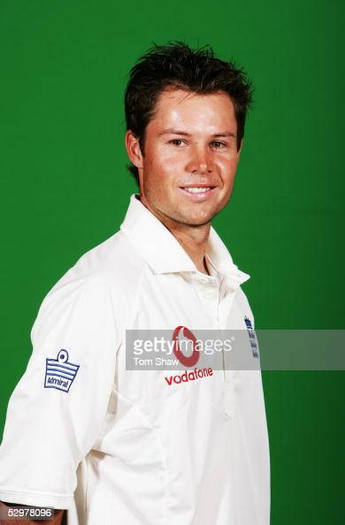 Portrait of Geraint Jones of England taken during a photocall at the Stapleford Park Hotel on May 20 2005 in Melton Mowbray Leicestershire England