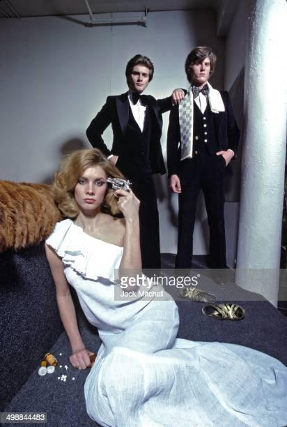 Portrait of German fashion designer Egon von Furstenberg 1977