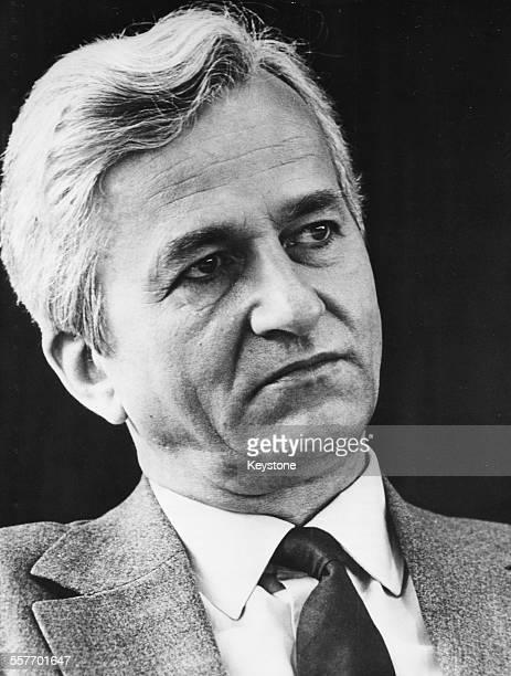 Portrait of German President Richard Von Weizsacker April 25th 1974
