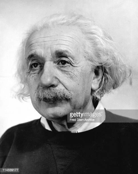 Portrait of Germanborn American physicist Albert Einstein 1946