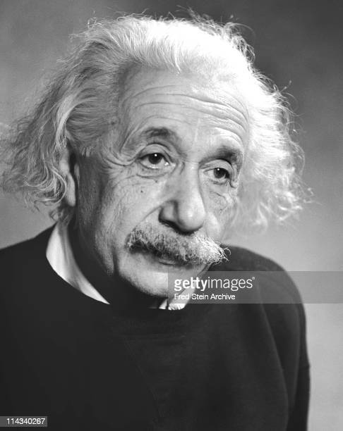 Portrait of Germanborn American physicist Albert Einstein 1946