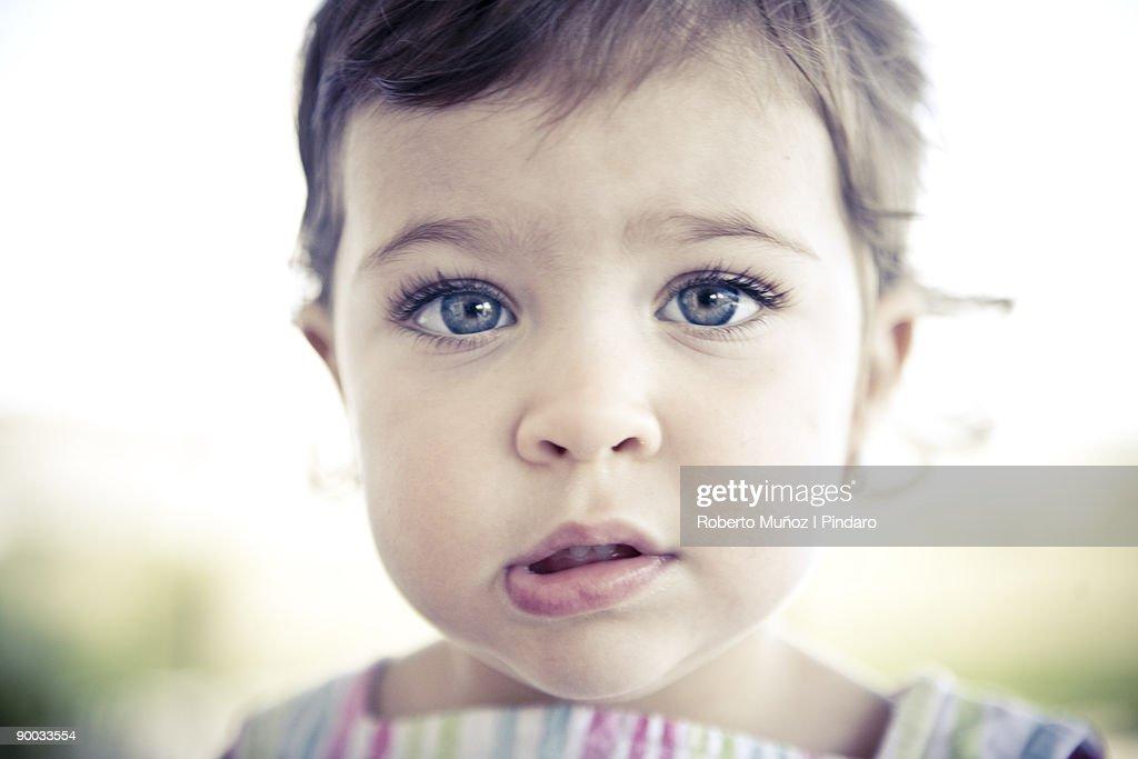 Portrait of girl at Sanding