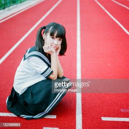 Portrait of girl : ストックフォト