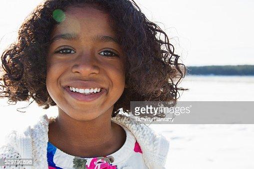 Portrait of girl (10-12) : Stock-Foto