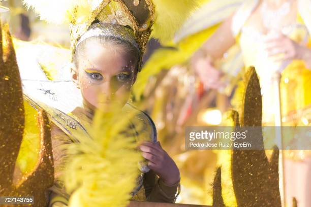 Portrait Of Girl Wearing Fairy Costume