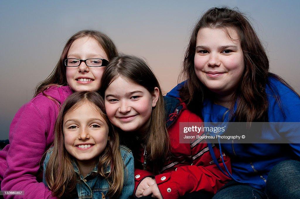 Portrait of girls