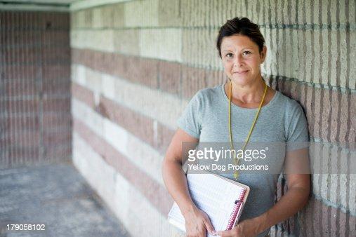 Portrait of Girls' Softball Coach