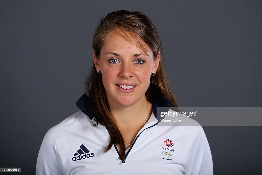 A portrait of Giselle Ansley a member of the Great Britain Olympic team during the Team GB Kitting Out ahead of Rio 2016 Olympic Games on June 30, 2016 in Birmingham, England.
