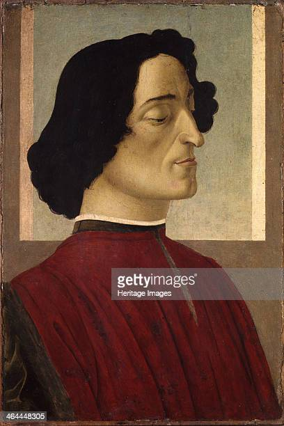 Portrait of Giuliano de' Medici ca 1475 Found in the collection of the Accademia Carrara Bergamo