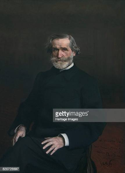 Portrait of Giuseppe Verdi Found in the collection of Casa di Riposo per Musicisti Milano