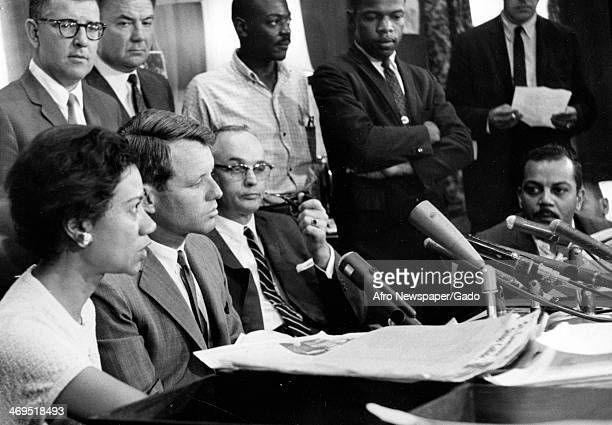 A portrait of Gloria Richardson leader of the Cambridge movement and brokering the 'Treaty of Cambridge' with Attorney General Robert Kennedy...
