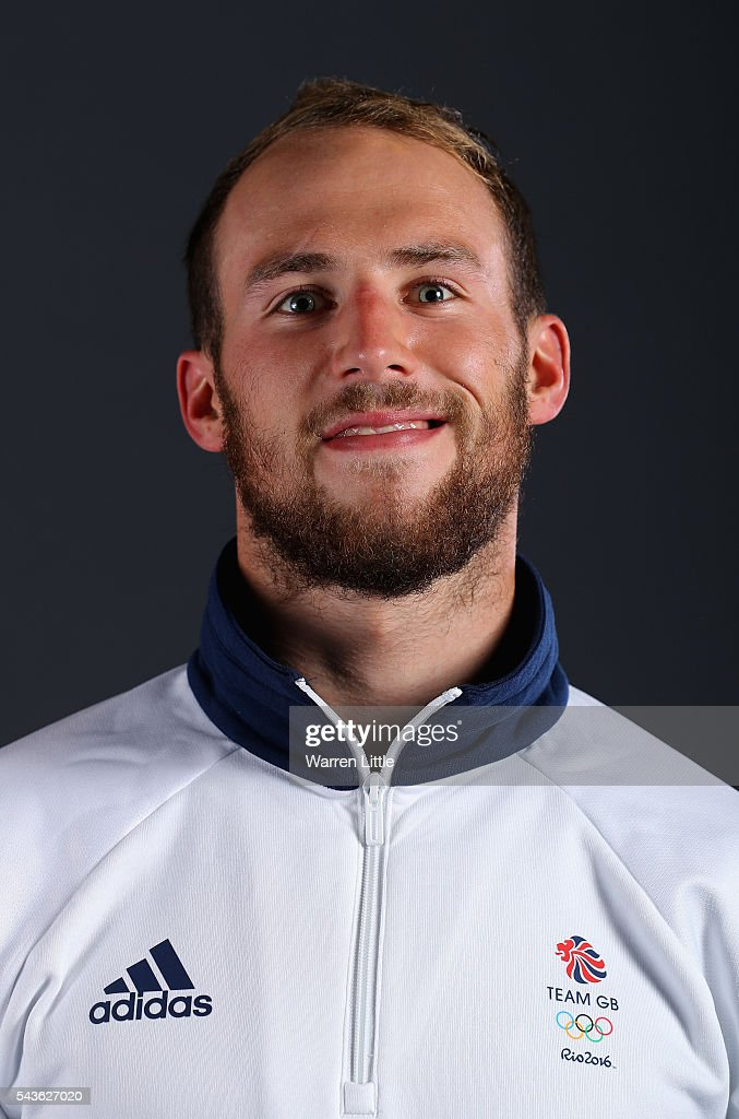 A portrait of Gordon Benson a member of the Great Britain Olympic team during the Team GB Kitting Out ahead of Rio 2016 Olympic Games on June 29, 2016 in Birmingham, England.