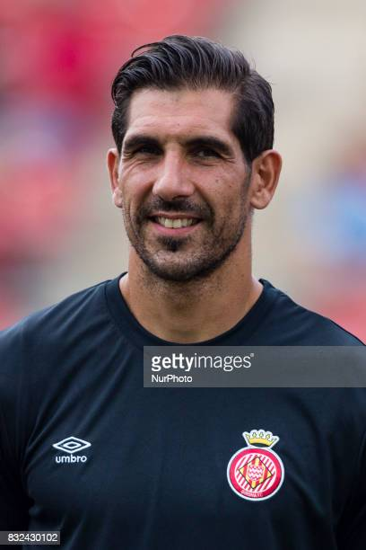Portrait of Gorka Iraizoz from Spain of Girona FC during the Costa Brava Trophy match between Girona FC and Manchester City at Estadi de Montilivi on...