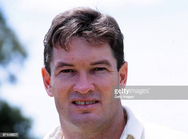 A portrait of Graeme Hick of England