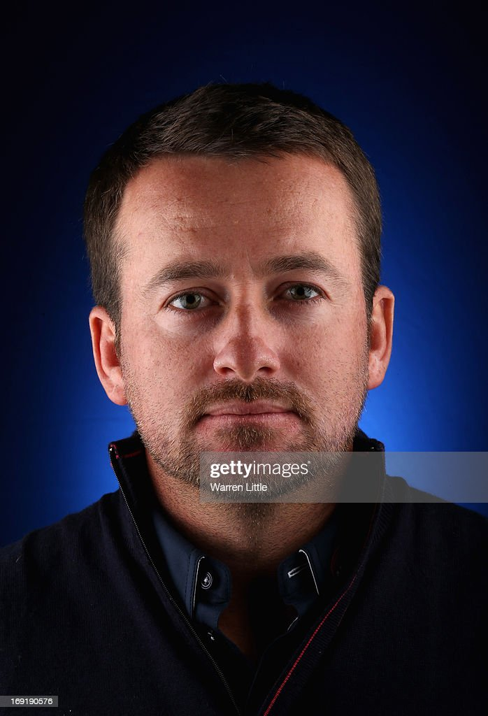 A portrait of <a gi-track='captionPersonalityLinkClicked' href=/galleries/search?phrase=Graeme+McDowell&family=editorial&specificpeople=196520 ng-click='$event.stopPropagation()'>Graeme McDowell</a> of Northern Ireland ahead of the BMW PGA Championship at Wentworth on May 21, 2013 in Virginia Water, England.