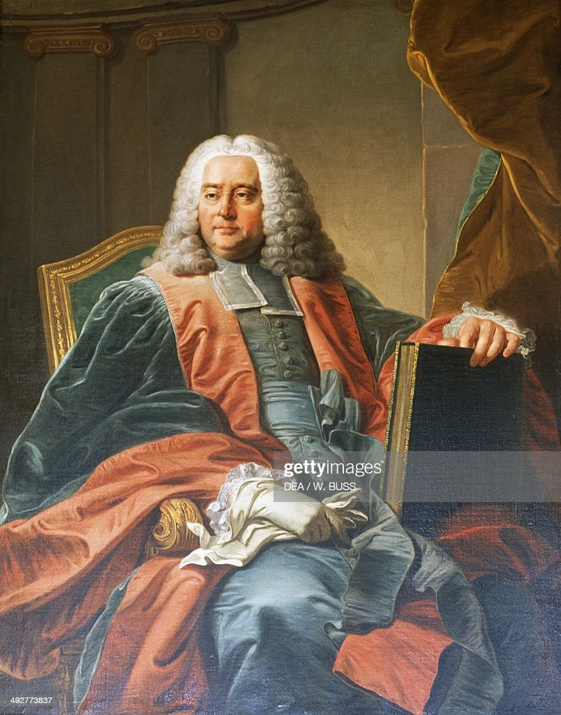 Portrait of Guillaume-Chretien de Lamoignon de Malesherbes (Paris, 1721-1794), French lawyer and politician, by Martin van Mytens II (1695-1770), oil on canvas.