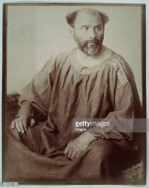 Portrait of Gustav Klimt Photography by Trcka Josef Anton 1914 [Portrait Gustav Klimt Photographie 1914]