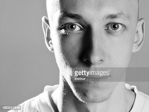 Porträt von gut aussehenden Attraktive junge Mann : Stock-Foto
